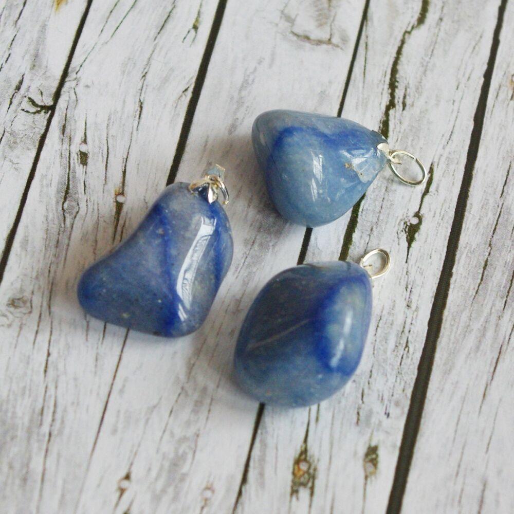 Zizi medál - kék kvarc