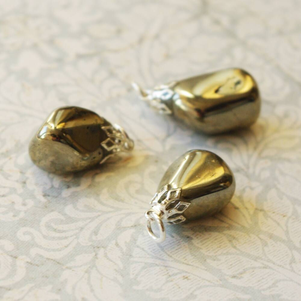 Pirit kristály medál