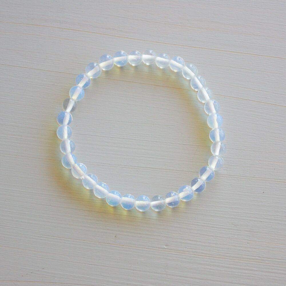 Opalit karkötő - 6 mm