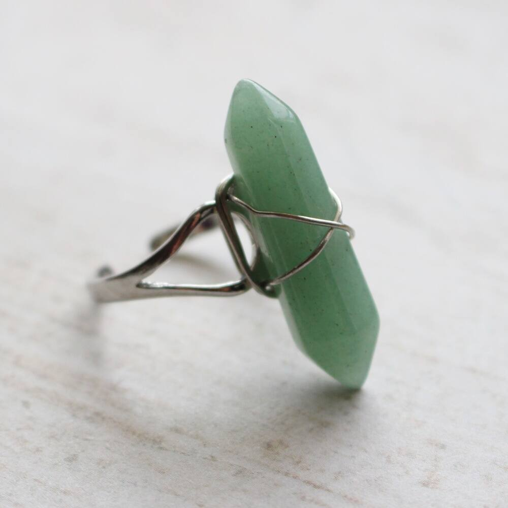 Aventurin gyűrű