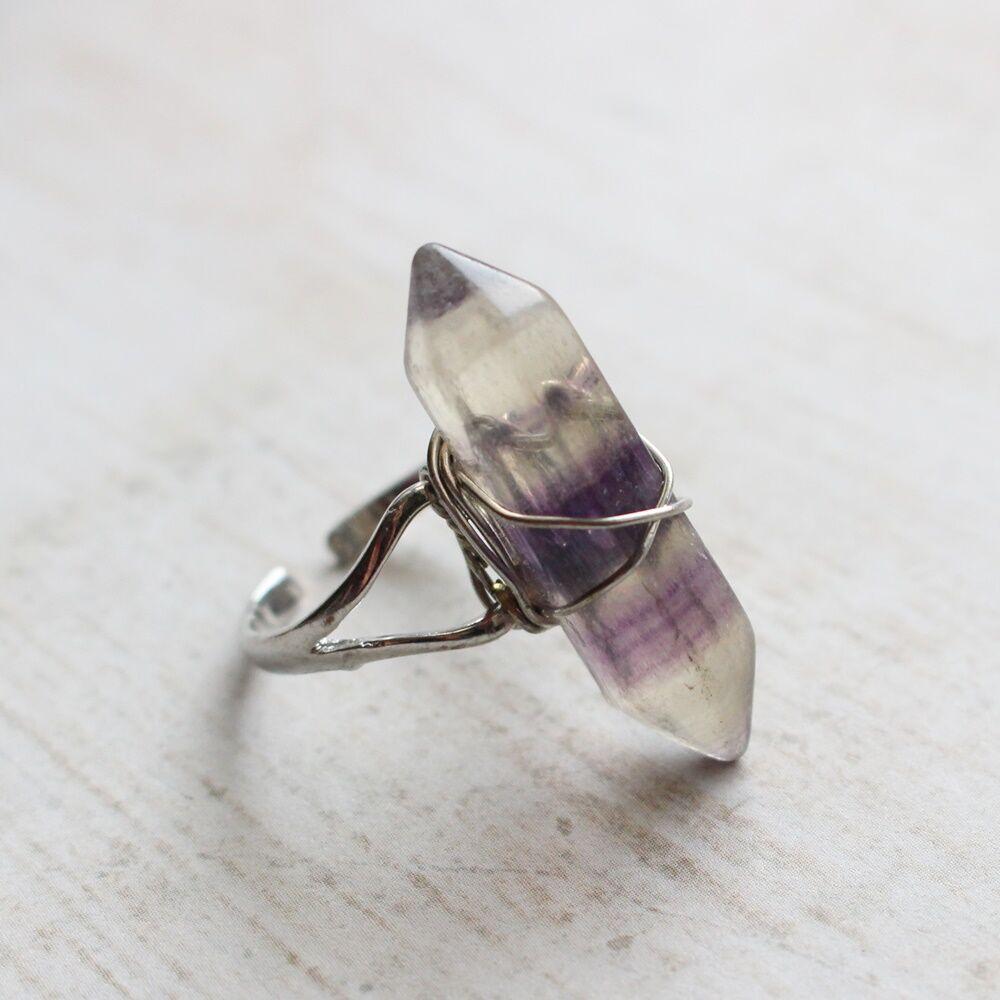 Fluorit gyűrű