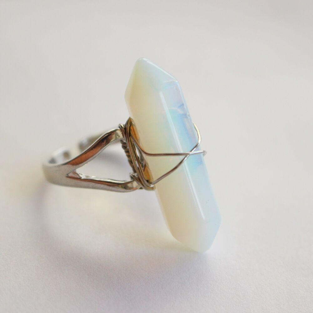 Opalit gyűrű