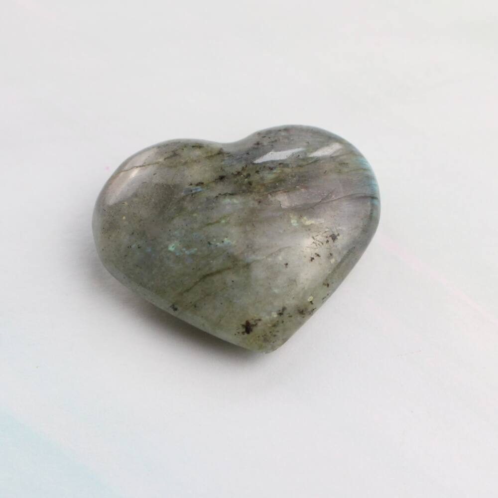 Labradorit szív