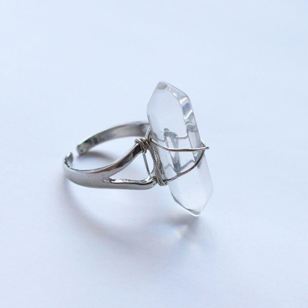 Kristály gyűrű