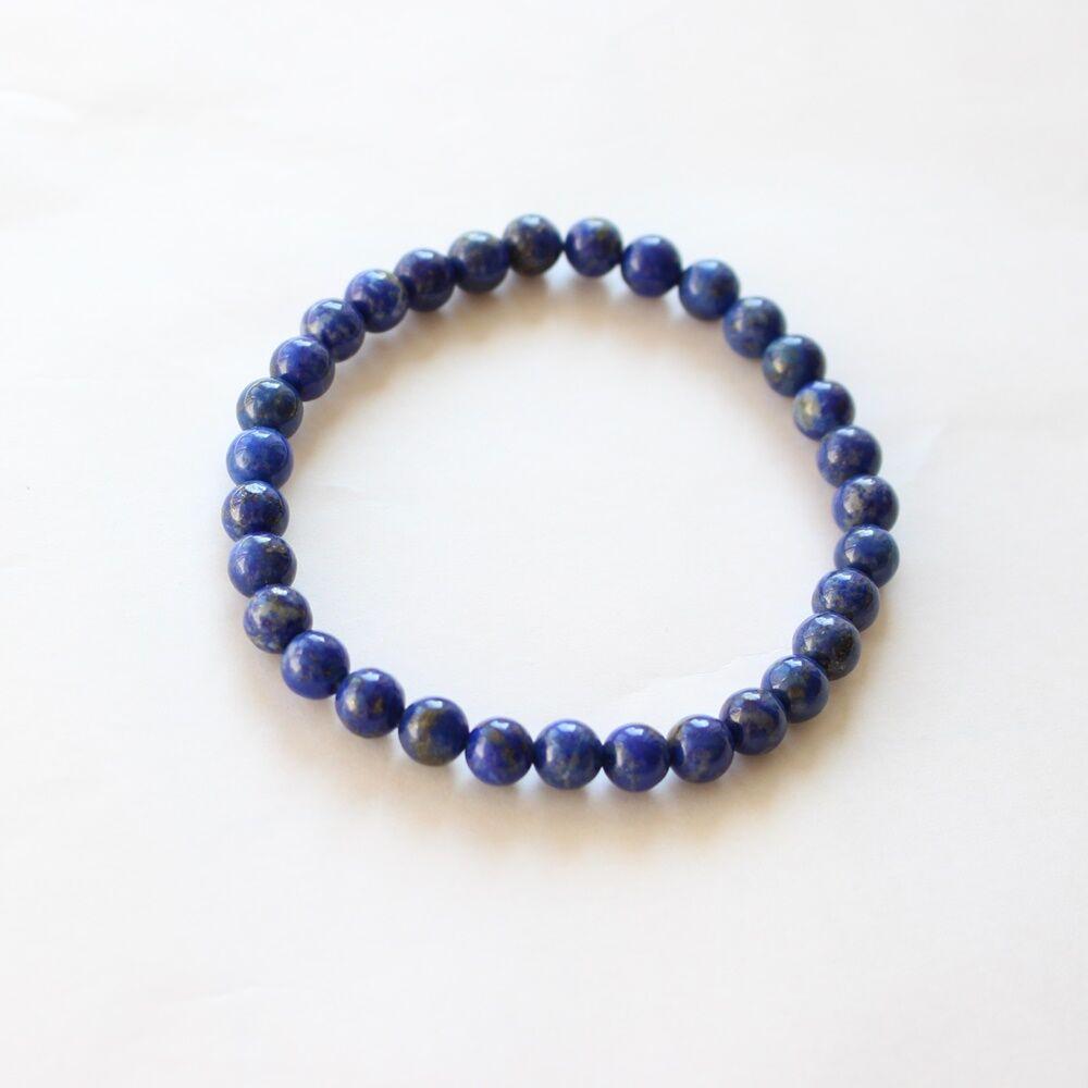 Lapis lazuli karkötő - 6 mm