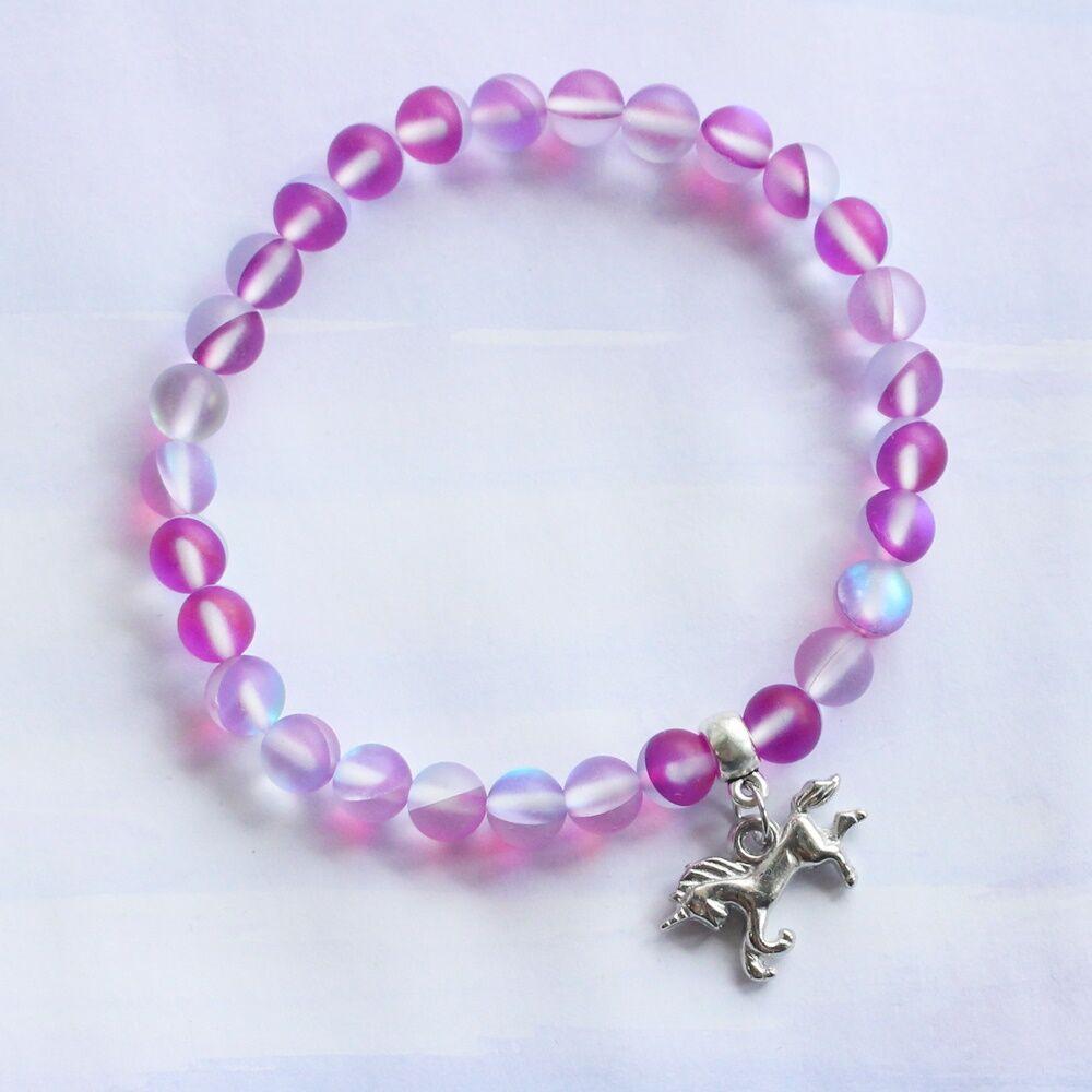 Unikornisos karkötő - pink