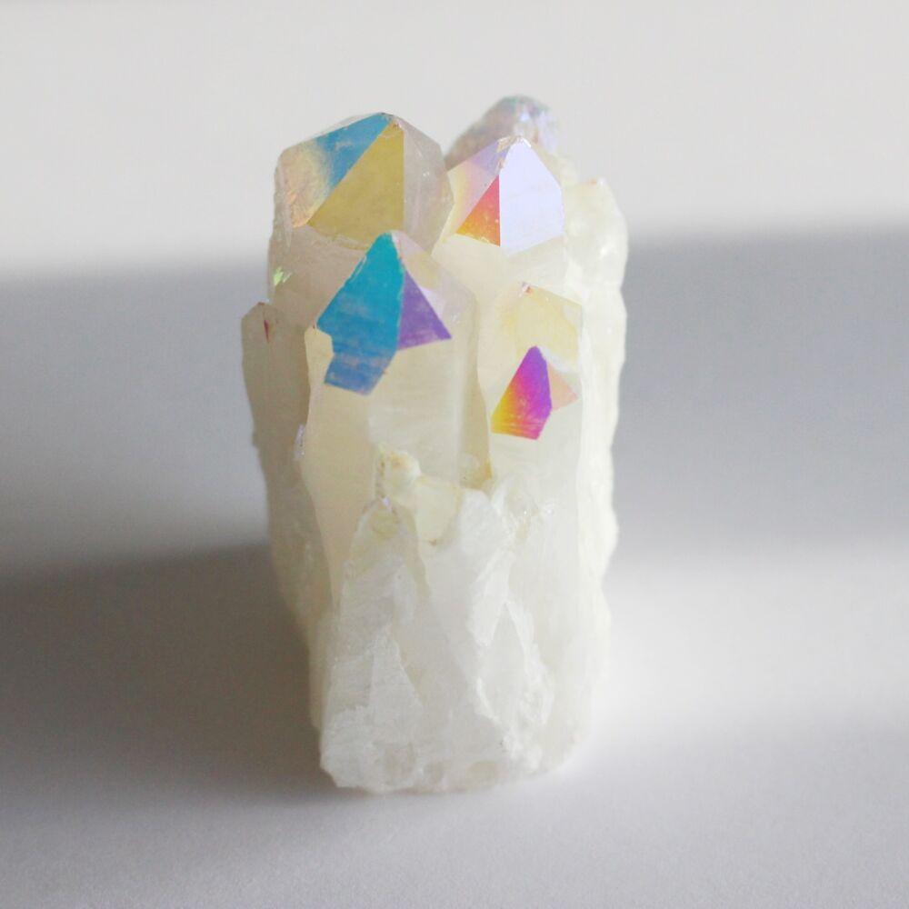 Aurakvarc kristálytelep - fehér