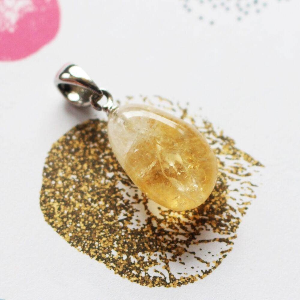 Zizi medál - citrin