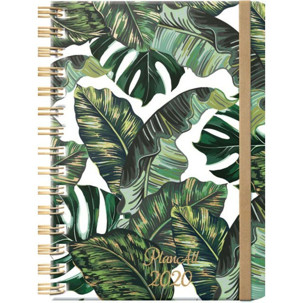 PlanAll heti tervező naptár - dzsungel