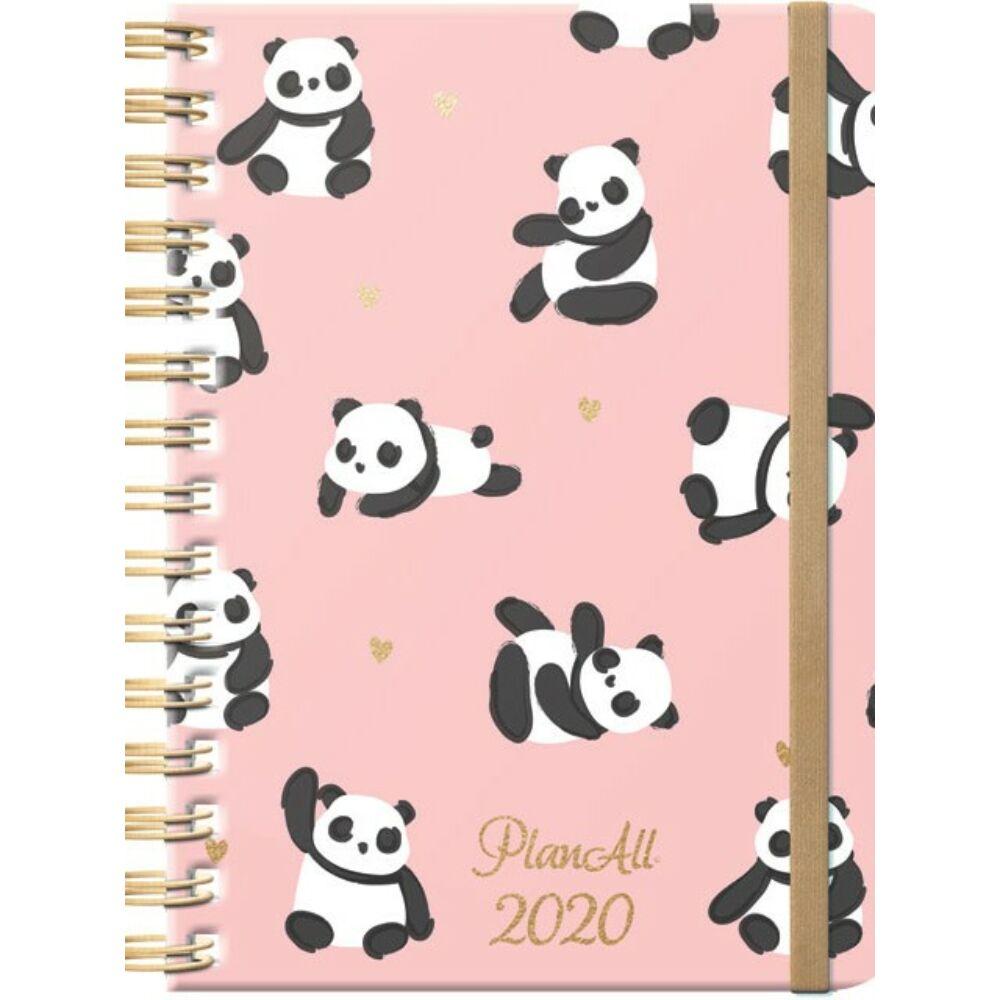 PlanAll heti tervező naptár - panda