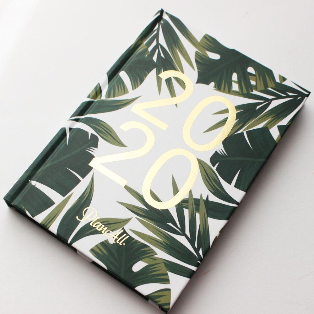 Mini PlanAll heti tervező naptár - dzsungel