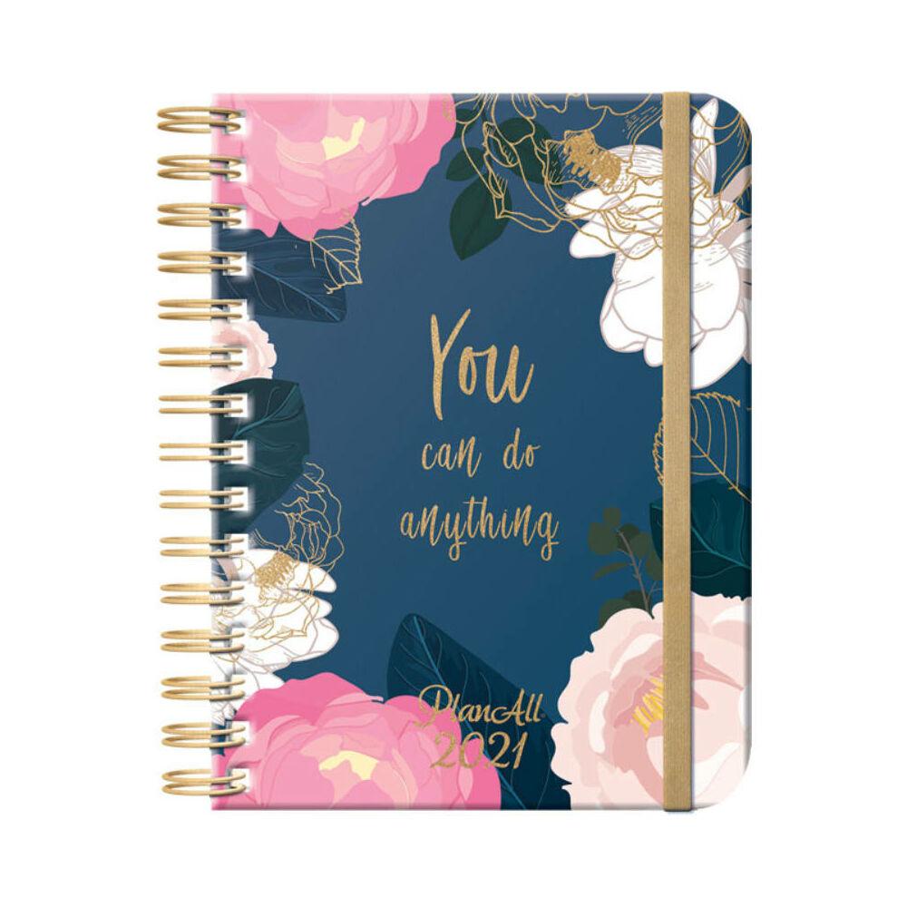 PlanAll heti tervező naptár - blue life