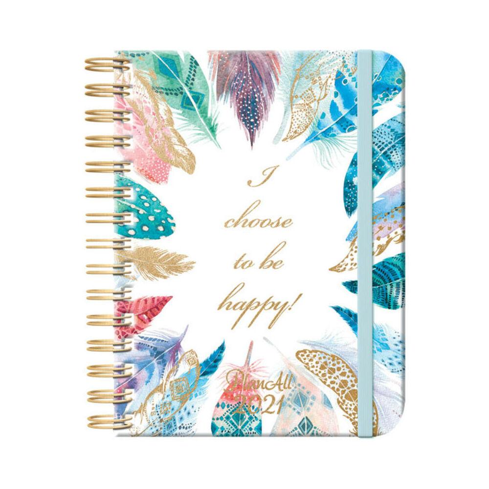 PlanAll heti tervező naptár - feather