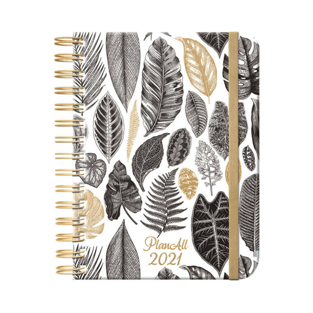 PlanAll heti tervező naptár - leaf