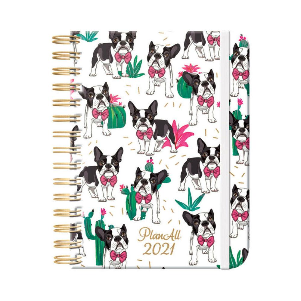 PlanAll heti tervező naptár - pupper