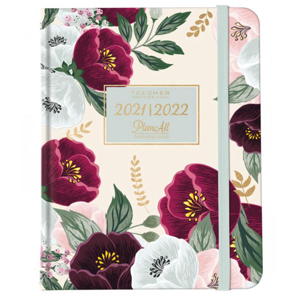 PlanAll tanári tervező naptár - virágos