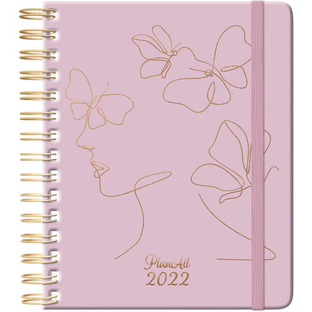 PlanAll heti tervező naptár 2022 - Mindset