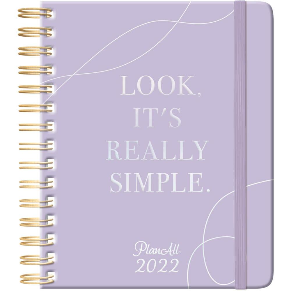 PlanAll midi naptár 2022 - Simple