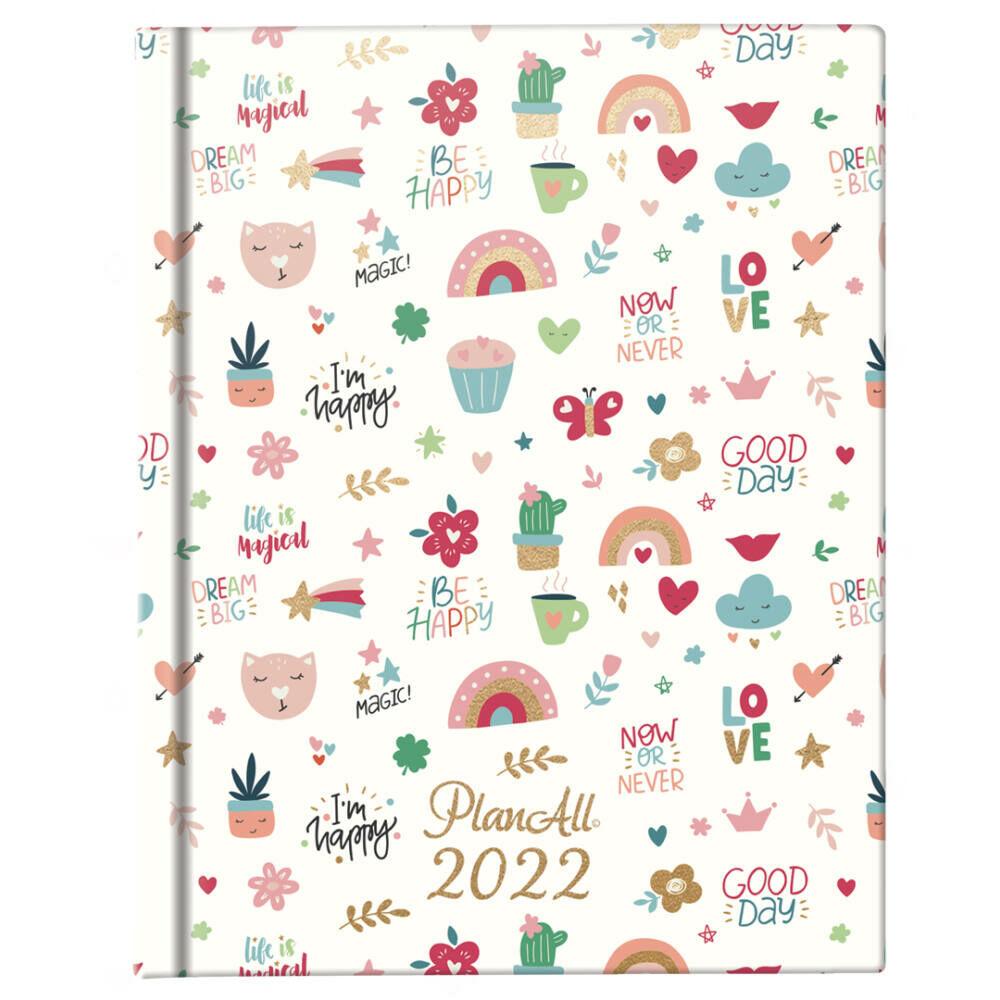 PlanAll Mini 2022 naptár - Lovely