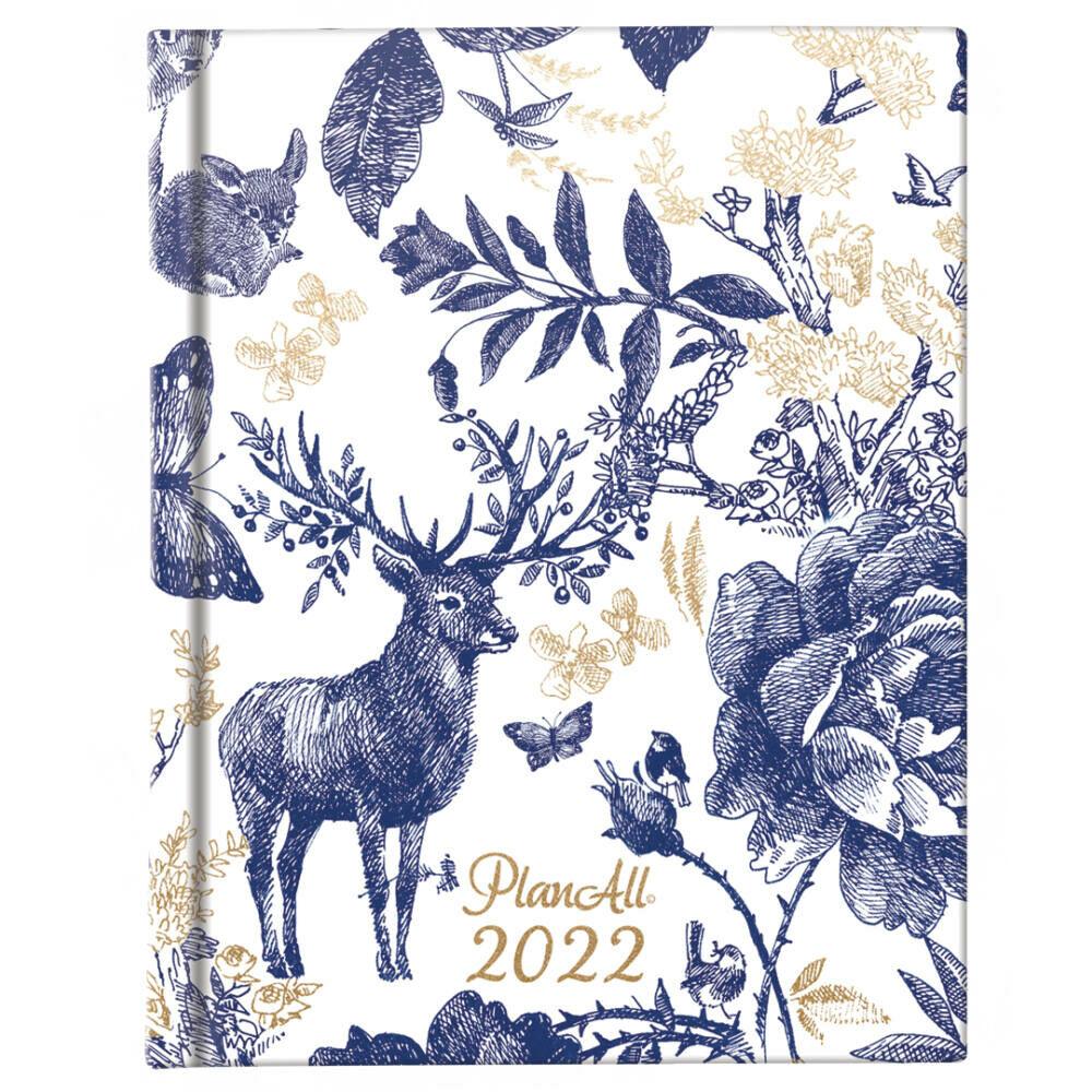 PlanAll Mini 2022 naptár - Majestic