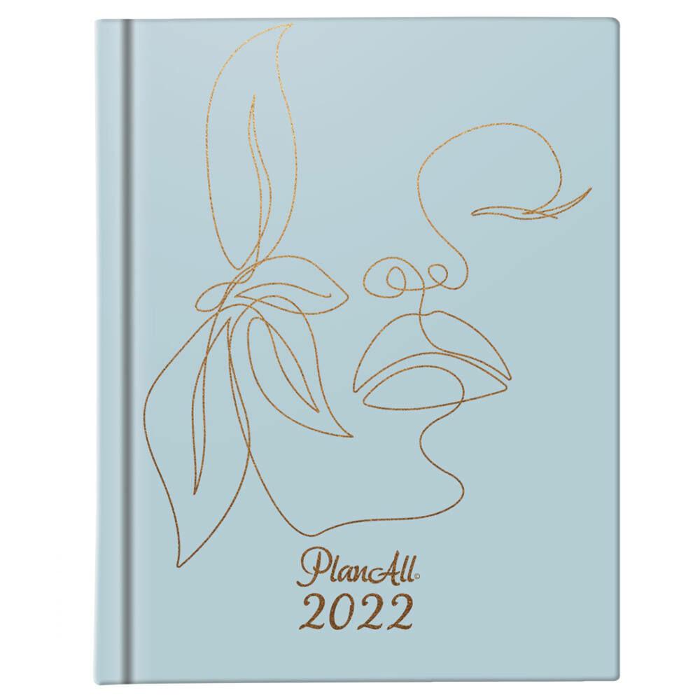 PlanAll Mini 2022 naptár - Serenity