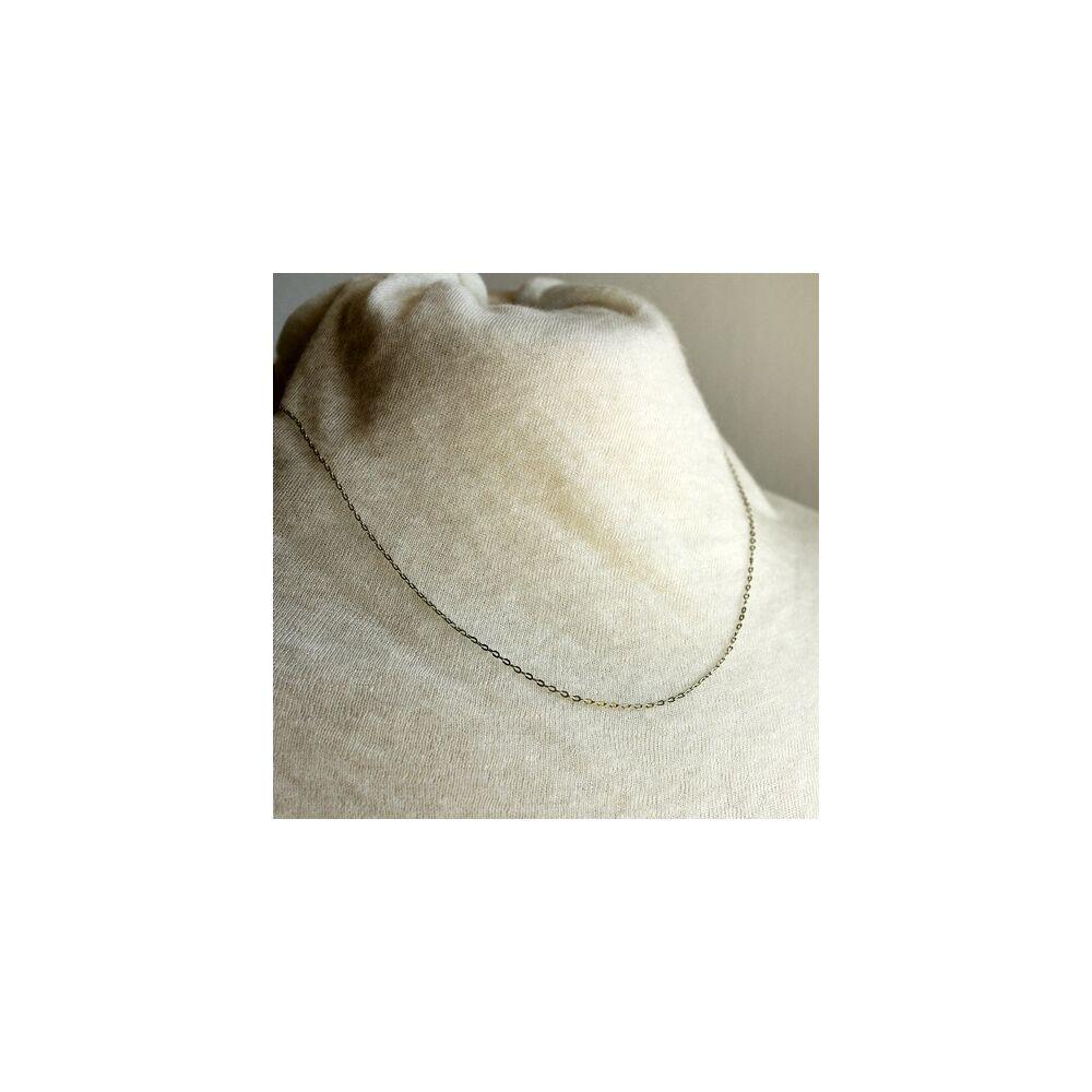 Kiegészítő nyaklánc medálokhoz - ezüst színű