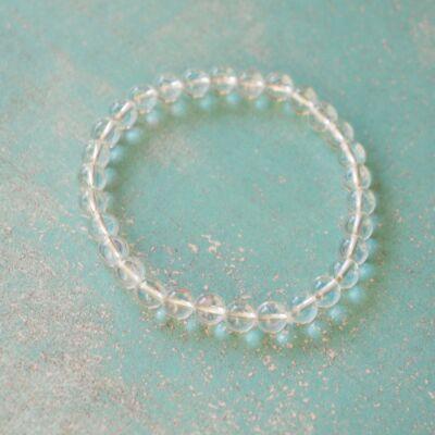 Hegyikristály karkötő - 6 mm
