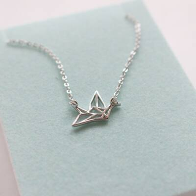 Origami nyaklánc