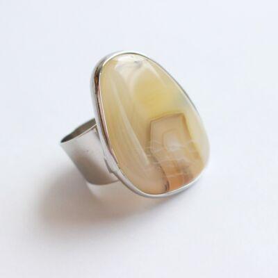 Achát gyűrű