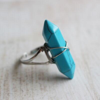 Türkinit gyűrű