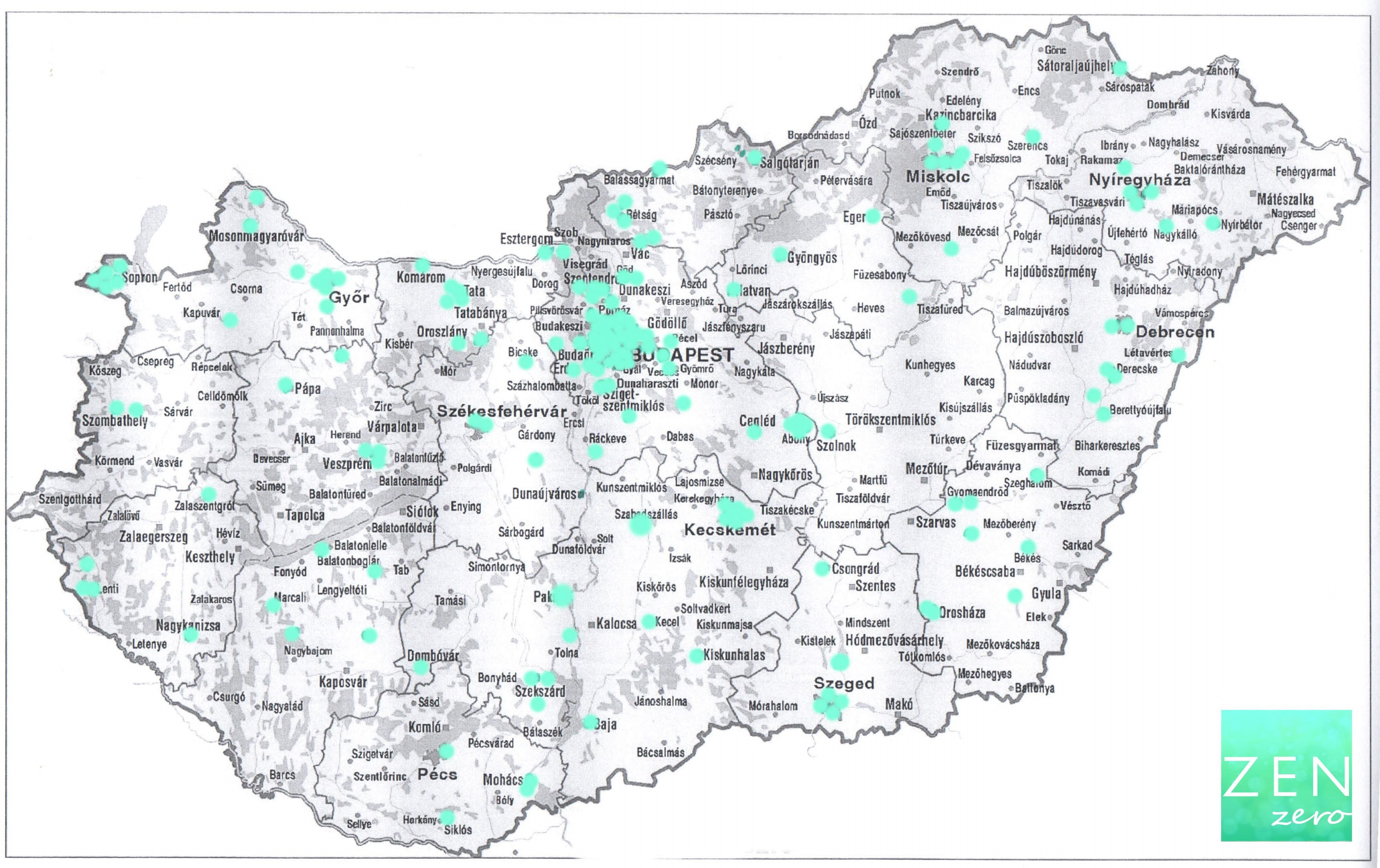 magyarország térkép bonyhád Így néz ki Magyarország zenzero térképe magyarország térkép bonyhád